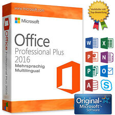 Microsoft Office 2016 Professional Plus MS Office PRO Plus Multilingual