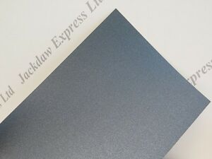 Business & Industrial Office Supplies Latest Collection Of 50 X 130x105mm 2-sided Black Pearlescent Paper 125gsm Am840 Fine Quality