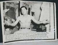 "1953 Carl Furillo, Brooklyn Dodgers, Original World Series Wire Photo 8"" x 10"""
