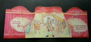 [SJ] Vatican Theatre 2007 Art Movie Opera (ms MNH *unfolded *rare *odd shape