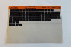 Honda-Teile-Katalog-Allzweckmotor-GX-200-Propan-1998-Ersatzteilkatalog-Microfich