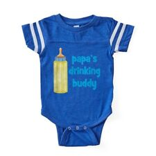 CafePress Papa/'s Future Fishing Buddy Body Suit Baby Bodysuit 1554239758