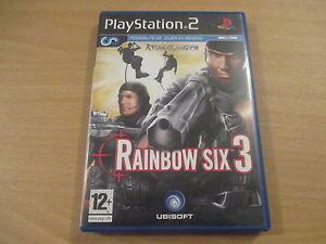 jeu playstation 2 tom clancy's rainbow six 3