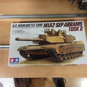 Tamiya, échelle 1/35, m1a2 Sep Abrams Tusk Ii, réf.35326