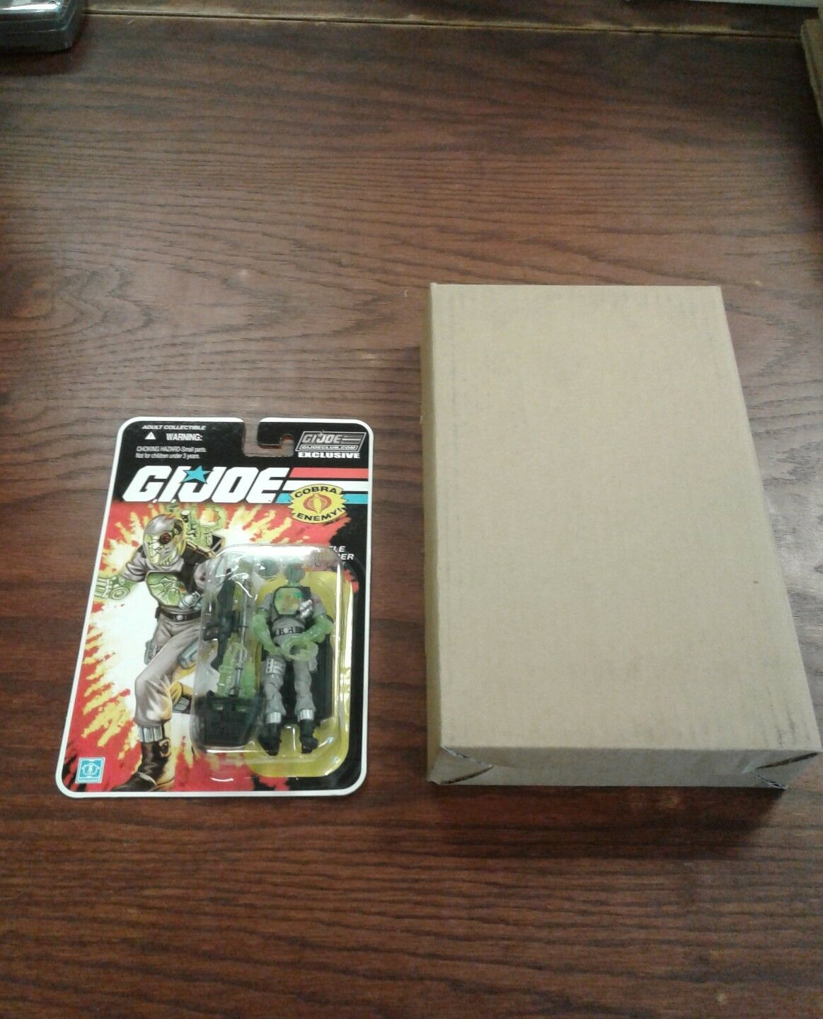 GI JOE GIJOECLUB.COM EXCLUSIVE NANO B.A.T. figure