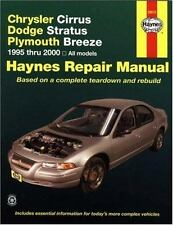 Haynes Manuals: Chrysler Cirrus, Dodge Stratus, Plymouth Breeze, 1995 Thru 2000