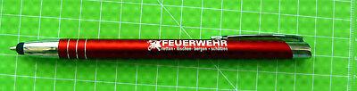 100 Stück Eigene Feuerwehr Qualität Metall Kugelschreiber Touch Pan .je 1,5 0 € Spezieller Sommer Sale