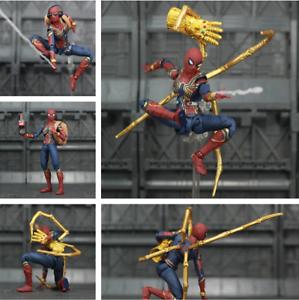 "Marvel Spider Man Tom Holland 6/"" Action Figure Homecoming Ver Spiderman Legends"