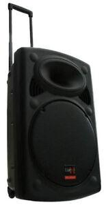 E-Lektron EL38-M Funkmikrofon Rollkoffer Soundsystem