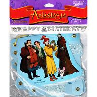 Anastasia Vintage Happy Birthday Banner Party Supplies Hanging Decorations