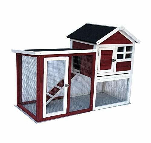 36 Wooden Waterproof Chicken Coop Hen House Rabbit Wood Hutch Poultry Cage For Sale Online Ebay