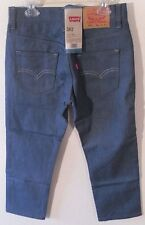 NWT Levis 562 Boys Loose Taper Jeans 8 Reg 24x22 Light Blue MSRP$48