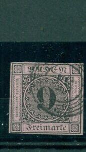 Baden-Wertziffer-Nr-4-b-gestempelt-Nr-57