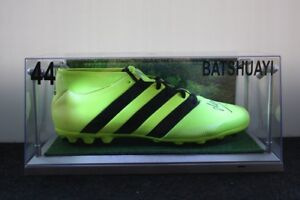 BVB Fußballschuh 46 Beleuchtung inkl Michy Batshuayi signiert