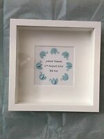 New Born Baby Personalised Frame