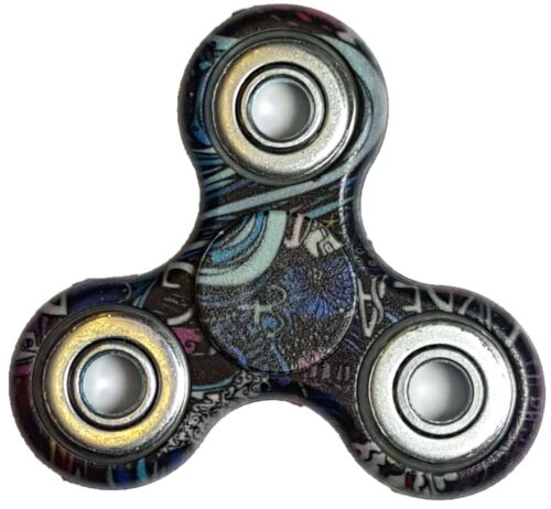 Rêve Design Graffiti Splat Bangers doigt Spinner stress Toy Focus
