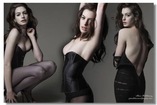 Poster Anne Hathaway Movie Actor Star Club Wall Art Print 207