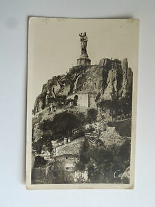 CPM-The-Puy-Statue-Colossal-a-S-E-a-N-D-of-France-on-The-Rocher-Corneille