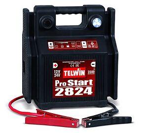 Avviatore-portatile-batteria-Telwin-PRO-START-2824-12V-24V-auto-furgoni