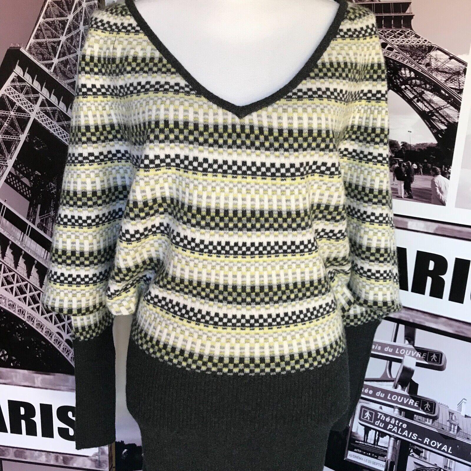 Free People Wool Blend Rawhide Tie Tunic Sweater Dress SP S P