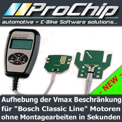 "25KM//h Vmax Remover für Elektrofahrrad mit  /""Bosch Classic Line/"" Motor"