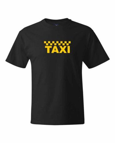 Taxi Logo Cab Driver Personal Driver New York Taxi logo T Shirts S-5XL