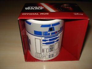 *bnib* Disney Star Wars R2 D2 Official Mug Emballage De Marque NomméE