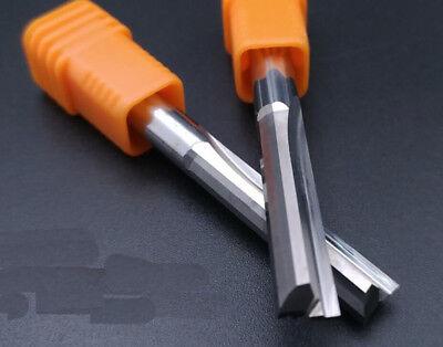 3pcs 6X6X22X50mm Double flute slot milling carbide cnc router bits endmills