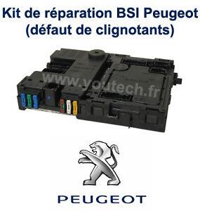 kit r paration boitier bsi peugeot 206 probl me clignotants notice ebay