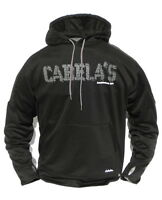 Cabela's Pursuit Iii Performance 100% Dwr Polyester Black Hunt & Fish Hoodie