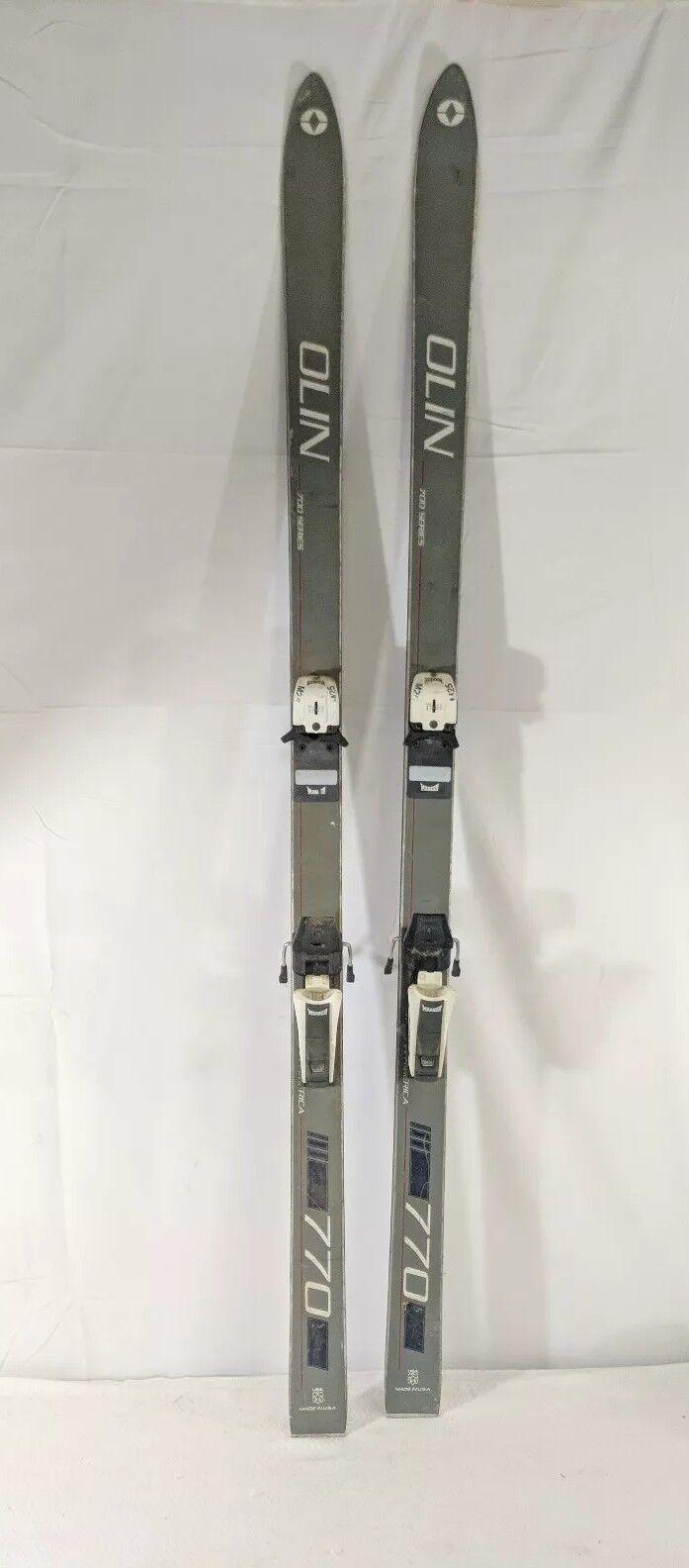 C5 Olin 700 Series 770 Skis W/ Marker M25 Bindings