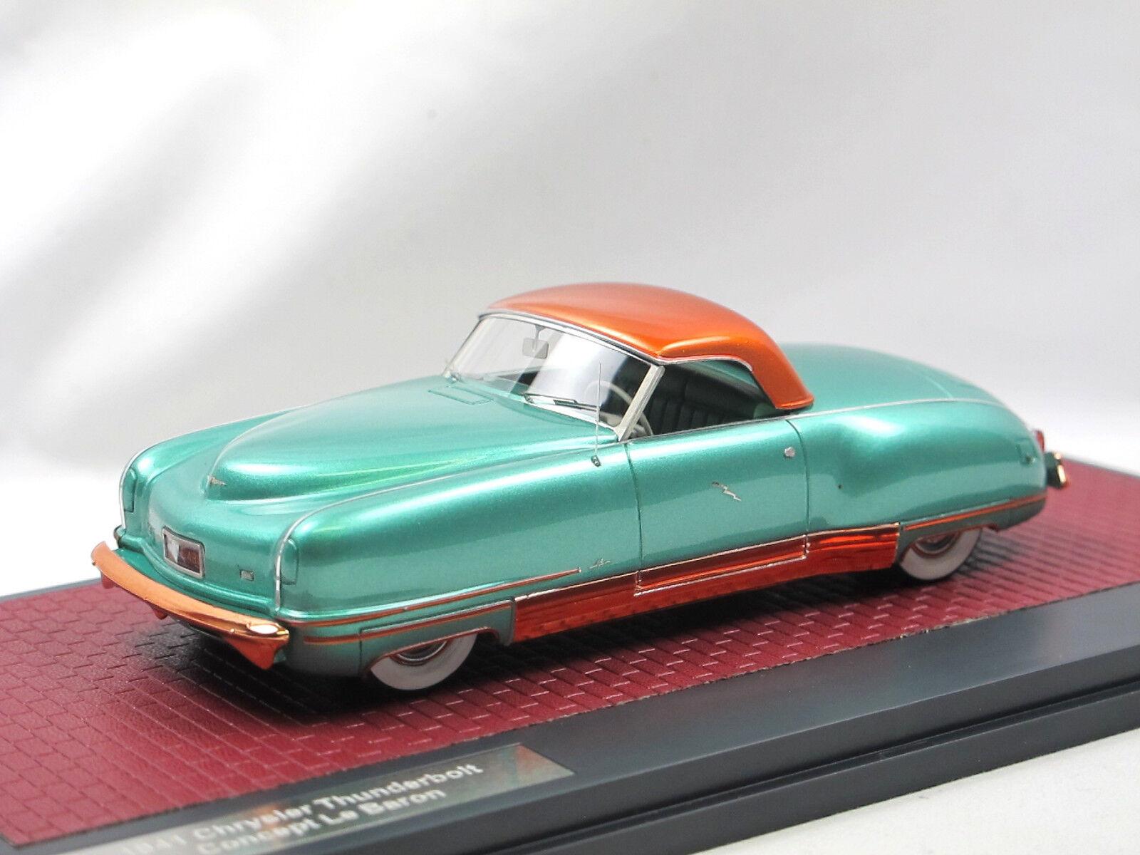 Matrice 1941 Chrysler LE CANARDEUR Concept LeBaron vert Top Up 1 43 limited
