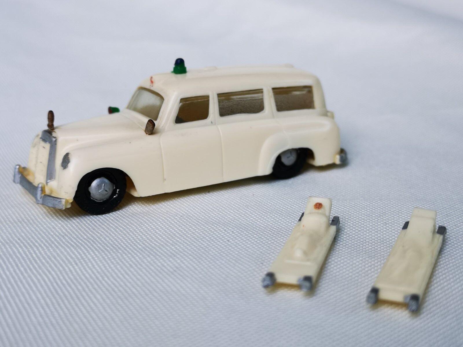SIKU plástico V171 Mercedes Benz 180 ambulancia V serie