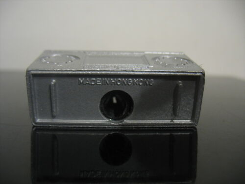 Vintage NOS  Boombox ghettoblaster  cassette pencil sharpener die cast  w// Box