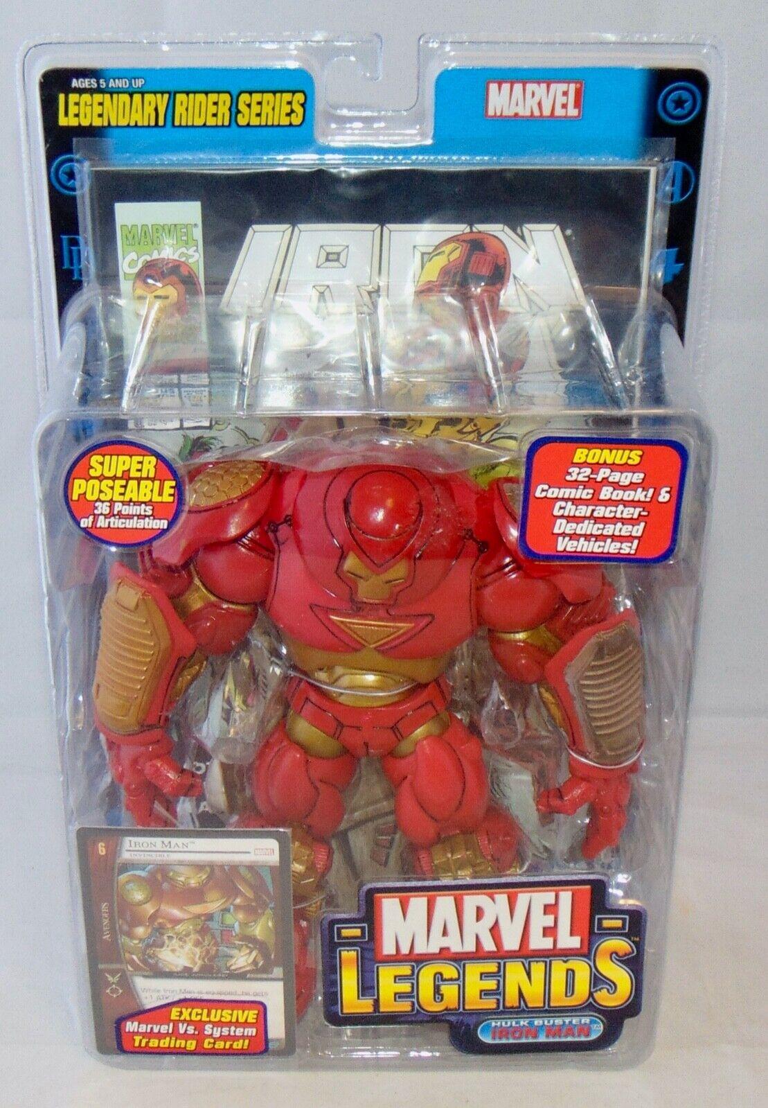 nuovo 2005 giocattoloBiz Marvel Legends 6 Hulk autobuster Iron uomo azione cifra Sealed