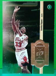 Scottie Pippen regular card 1998-99 Upper Deck SPx Finite #56