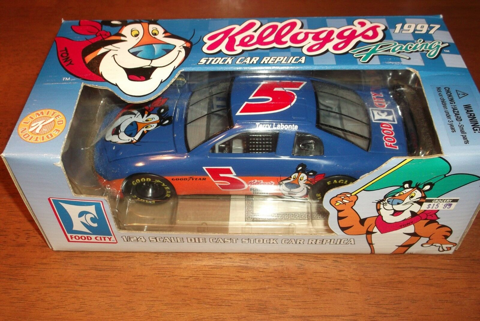 TERRY LABONTE KELLOGG'S RACING RARE LIMITED EDITION PROMOTION 1 1 1 24 (79 c07cc4