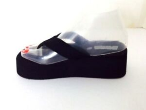 d2248077fb8b1d Image is loading Women-Wedge-EVA-Platform-Flip-Flops-Sandals-Shoes-