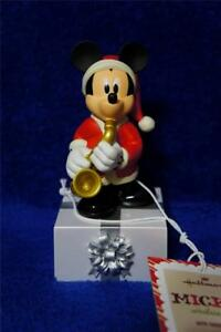 DISNEY-Band-MICKEY-Mouse-Saxophone-2013-Hallmark-music-sound-motion-NWT-NEW