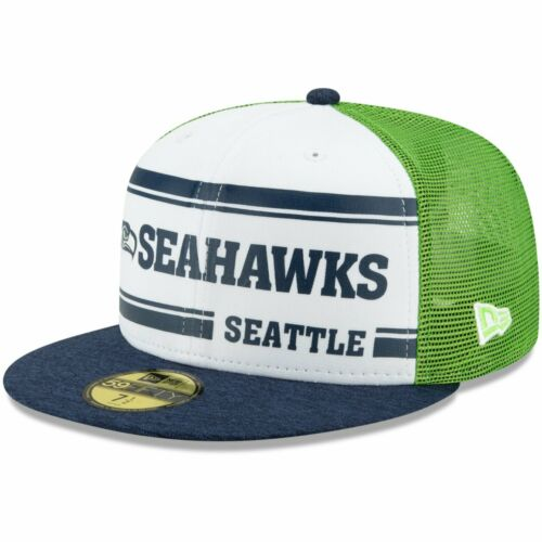 New Era 59Fifty Cap Sideline 1970s Home Seattle Seahawks