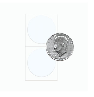 SILVER DOLLAR SIZE 2 X 2 COIN HOLDERS 25