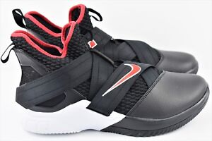 0421e1a103cb Nike Lebron Soldier XII 12 Bred Mens Size 11.5 Basketball Shoes ...
