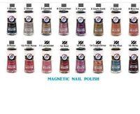 3 Magnetic Nail Polish Nabi Magnetic Nail Art(pick Ur Own 3 Colors )