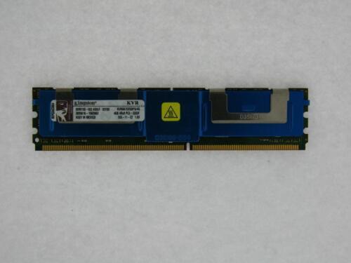 4 GB, DDR2 RAM, 667 MHz, FB-DIMM Kingston KVR667D2Q8F5//4G Server RAM TESTED