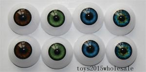 Acrylic EYES 24mm FOR REBORN DOLL KITS for 28/'/' NEWBORN BABY DOLL TOYS EYES