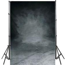 Neu Grau Schwarz Fotohintergrund Hintergrund Studio Background Backdrop 1.5x2.1m