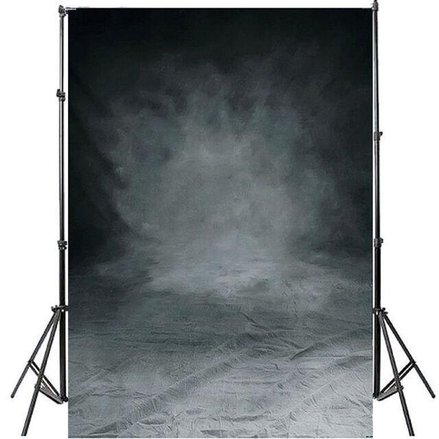 1,5x2,1m Schwarz Fotohintergrund Hintergrund Kulisse Studio Background Backdrop