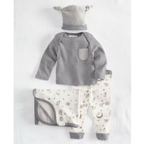 Mud Pie E8 Baby Boy 0-3Months Counting Sheep Layette Gift Set 10190022
