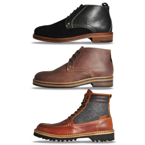 Wolverine Mens Premium Leather Urban Casual Designer Boots Only £49.99