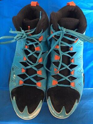 super cute 6cc7a 69030 Nike Jordan Melo M10 Size 12 Sky Blue/Orange Display Pair 629876-407 See  Pics | eBay